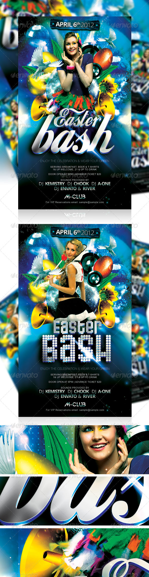 Easter Bash Party Flyer Vol_3 - Events Flyers
