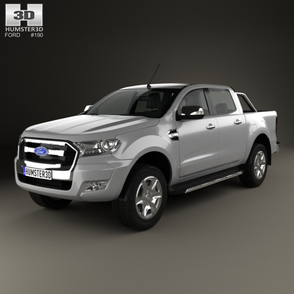 Ford Ranger Double Cab 2015 - 3DOcean Item for Sale