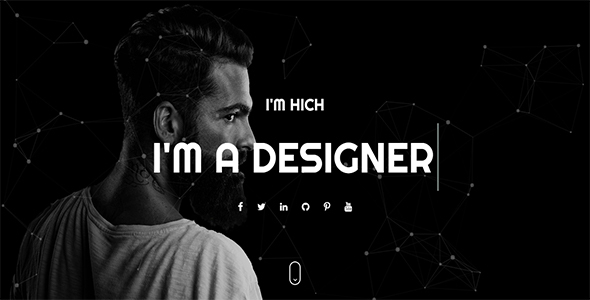Hitch One Page Personal Html Template By Ui Themez Themeforest