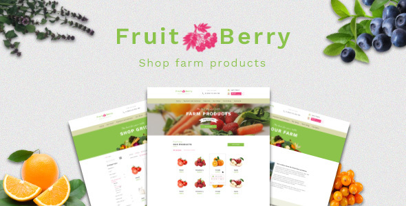 Fruit & Berry – shop farm products - Food Retail