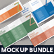 Z-Fold Brochure Mockup Bundle - GraphicRiver Item for Sale