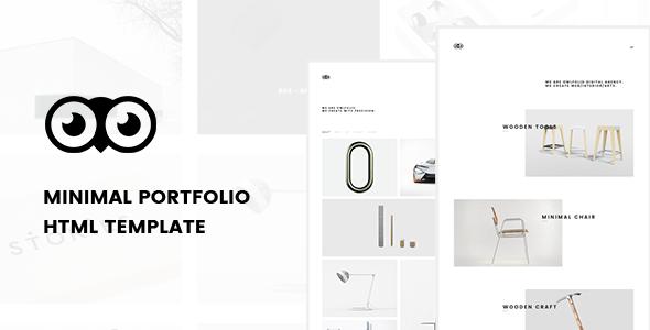 Owlfolio – Personal Portfolio Template