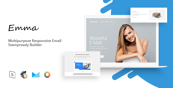Emma – Responsive Email Template Minimal