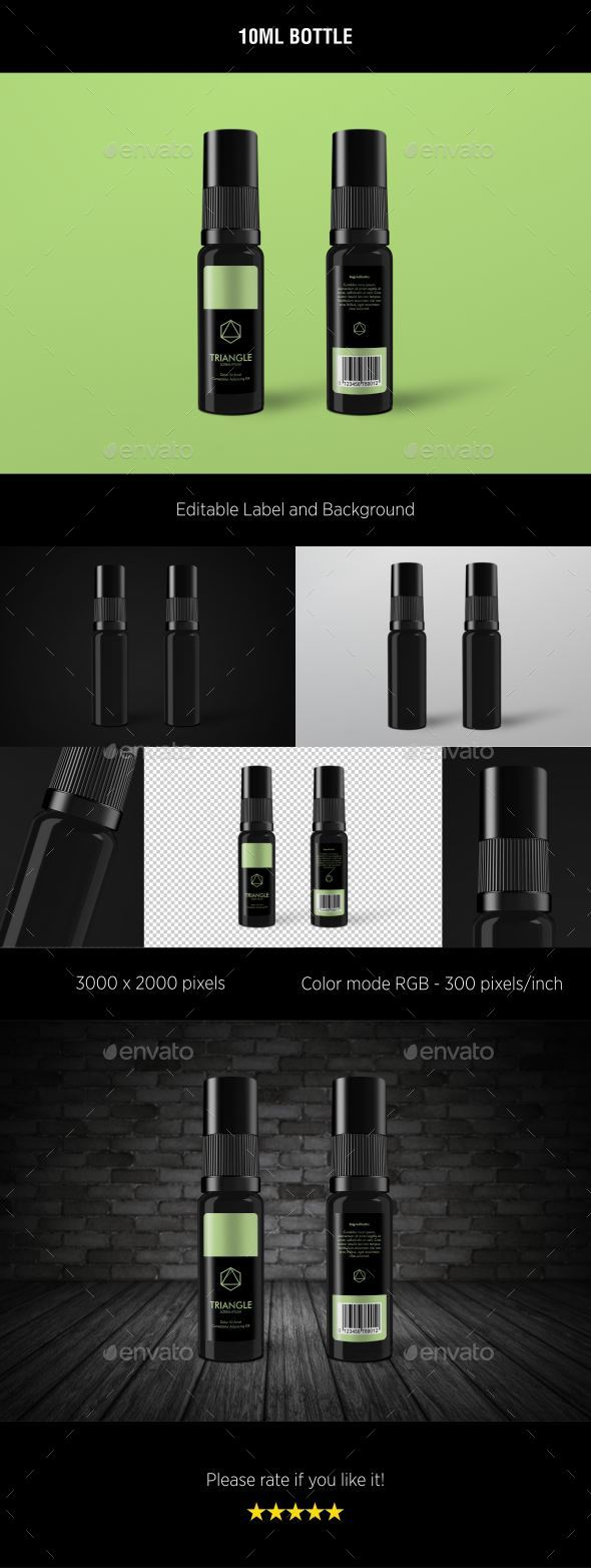 10ml Bottle - Miscellaneous Packaging