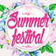 Summer Festival Party Flyer Poster - GraphicRiver Item for Sale