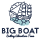 Big Boat Creative Logo Template - GraphicRiver Item for Sale