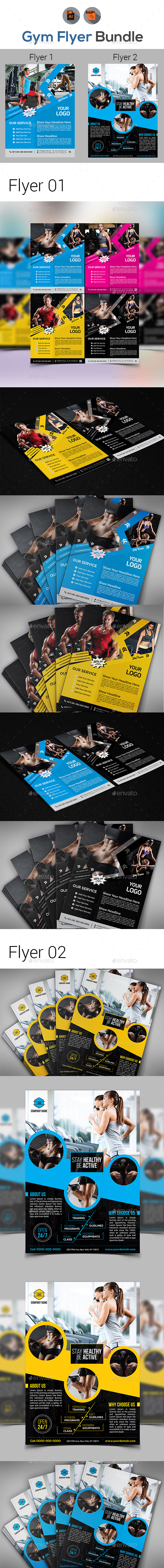 Fitness Flyers - Corporate Flyers
