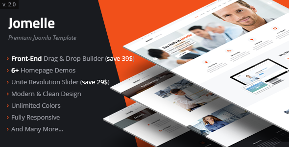 Jomelle | Multipurpose Business Joomla Template - Business Corporate