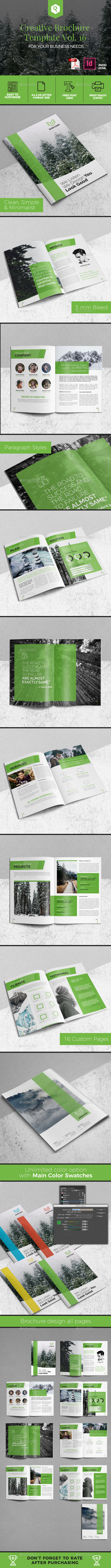 Creative Brochure Template Vol. 16 - Corporate Brochures