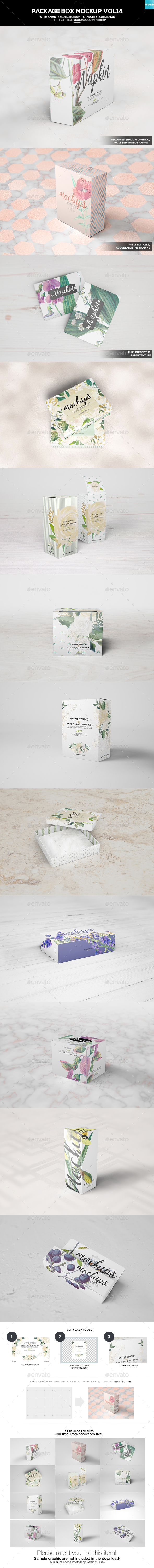 Package Box Mockups 14 - Miscellaneous Packaging