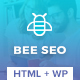 Bee SEO - Marketing WordPress Theme Nulled