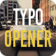 Typo Opener - VideoHive Item for Sale