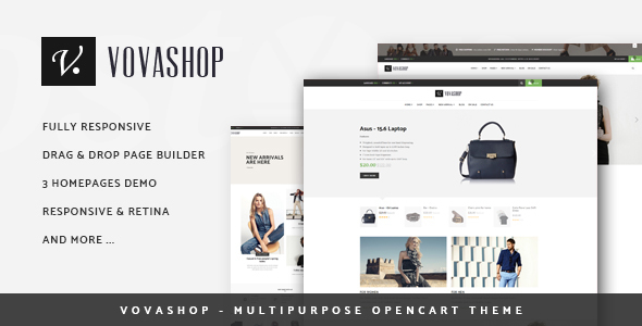 Vovashop – Multipurpose OpenCart Theme