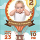 Baby Birthday Invitation - GraphicRiver Item for Sale