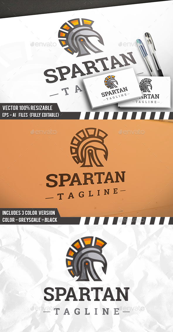 Spartan Sun Logo - Humans Logo Templates