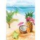 Exotic Cocktail on a Summer Tropical Beach - GraphicRiver Item for Sale