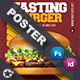 Fast Food Burger Poster Templates - GraphicRiver Item for Sale