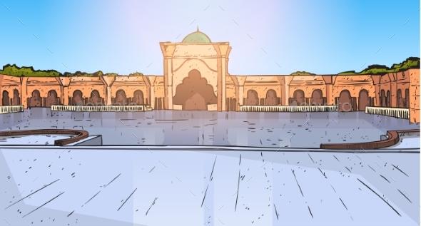 Nabawi Mosque Building Muslim Religion Ramadan - Religion Conceptual