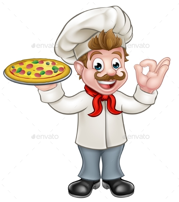 Pizza Chef - Food Objects