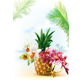 Pinapple with Orchid Flowers - GraphicRiver Item for Sale