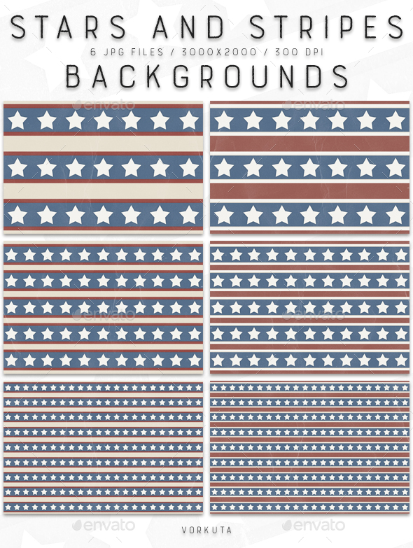 Stars And Stripes | Backgrounds - Patterns Backgrounds