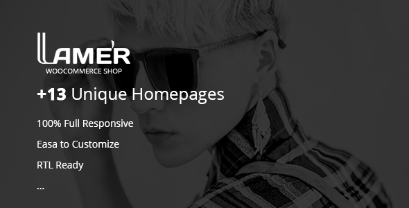 Lamer Fashion - WooCommerce WordPress Theme