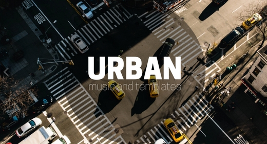 Urban AE templates & Hip-Hop music
