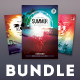 Summer Flyer Bundle Vol.17 - GraphicRiver Item for Sale