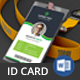 Office ID Card - GraphicRiver Item for Sale