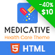 Medicative - Responsive Medical HTML Template - ThemeForest Item for Sale