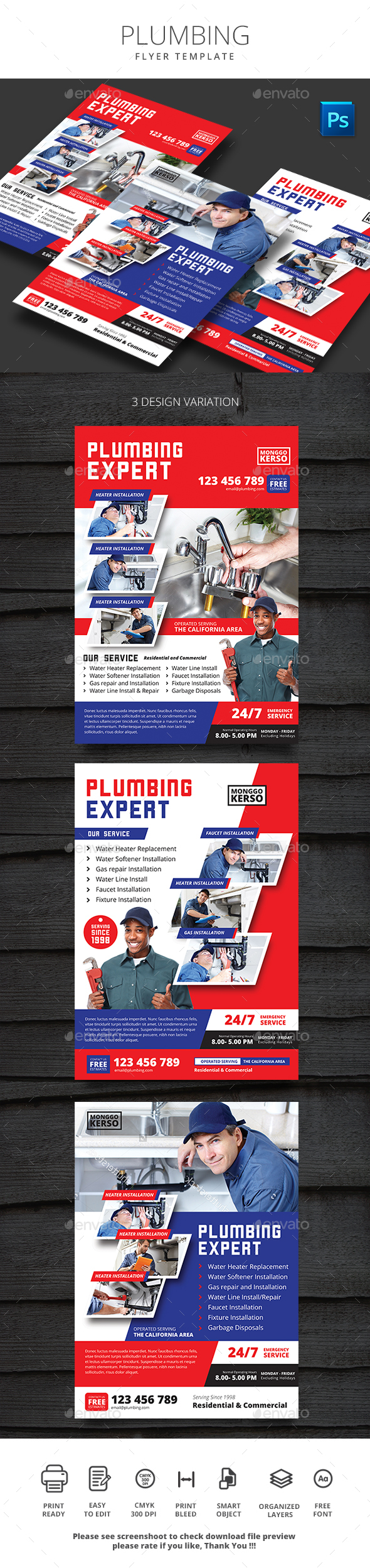 Plumbing - Print Templates