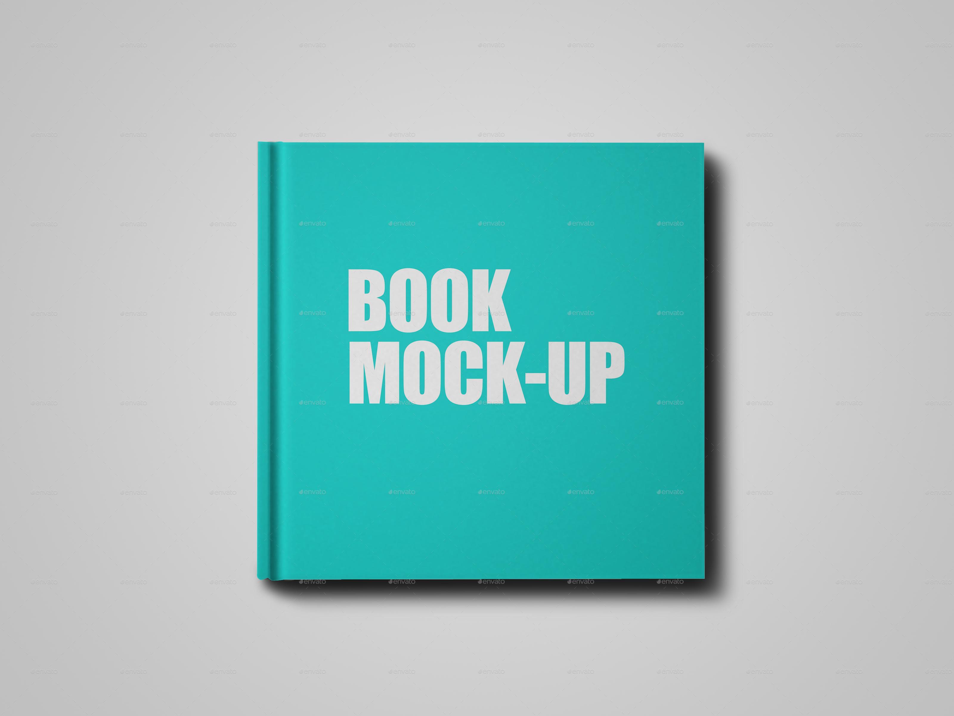 book mock up