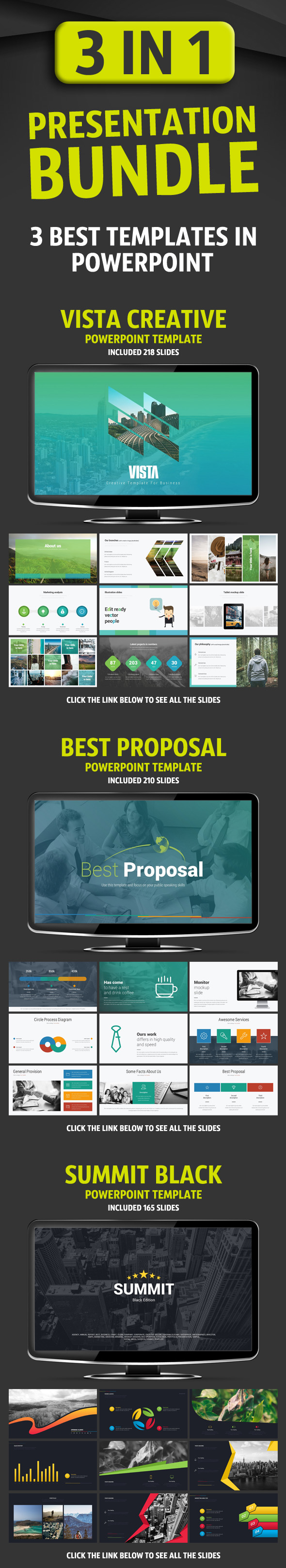 Presentation Bundle - Business PowerPoint Templates