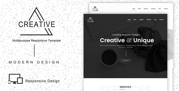 Creative - Responsive Multipurpose Template - Corporate Site Templates