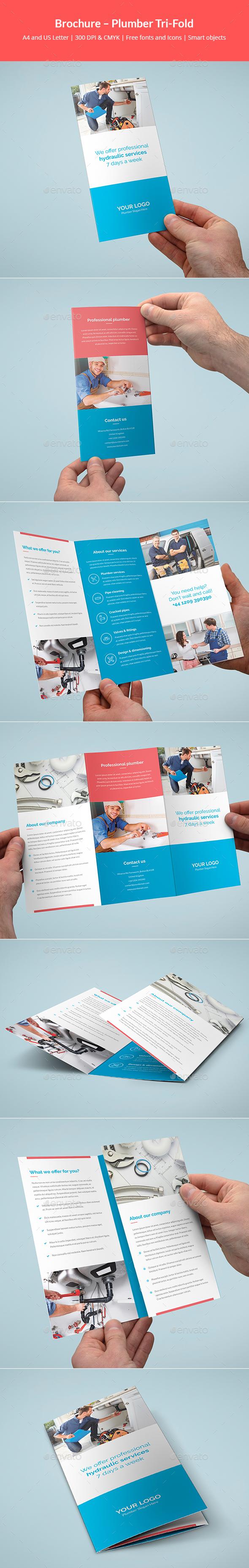 Brochure – Plumber Tri-Fold - Corporate Brochures