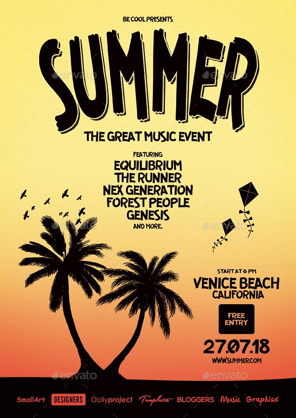 Summer Flyer/Poster