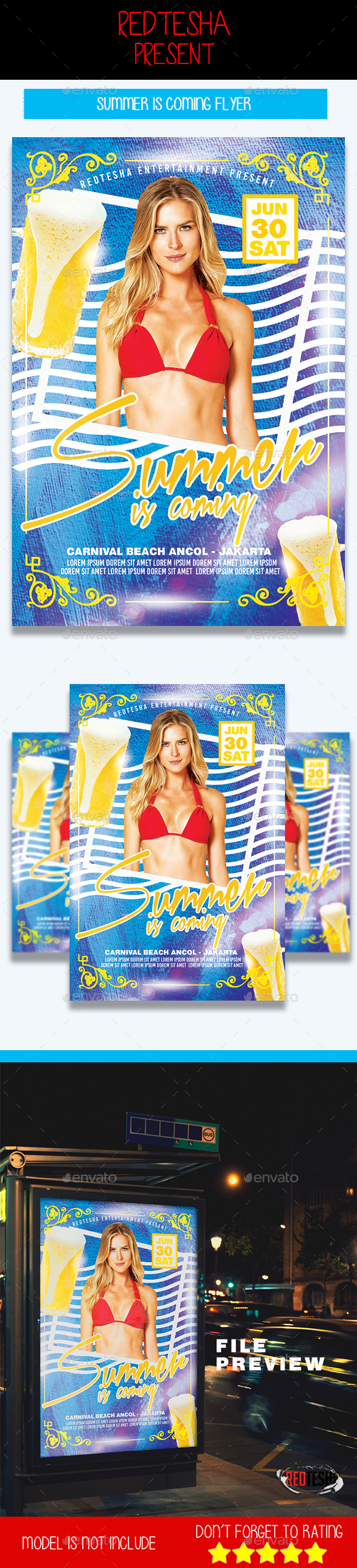 Summer is Coming - Events Flyers