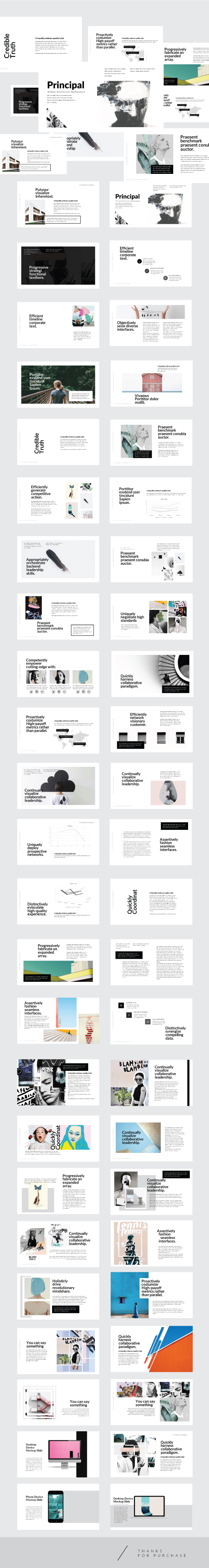 Port - Creative Template Keynote - Creative Keynote Templates