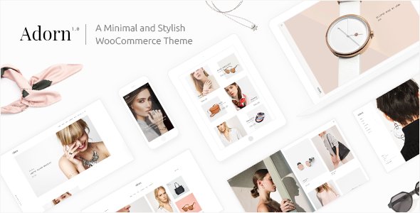 Adorn - A Minimal and Stylish WooCommerce Theme - WooCommerce eCommerce