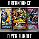Break Dance Battle Flyer Bundle - GraphicRiver Item for Sale