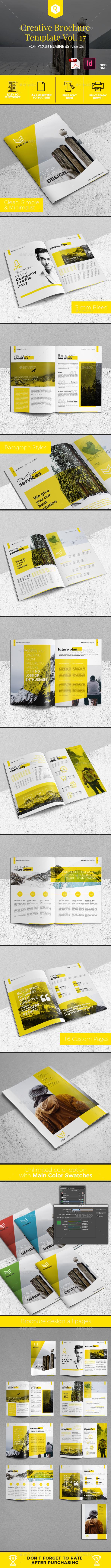 Creative Brochure Template Vol. 17 - Corporate Brochures