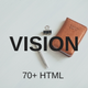 Vision - Multipurpose HTML Template - ThemeForest Item for Sale