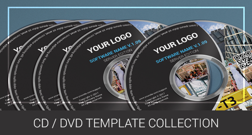 CD & DVD Template Collection