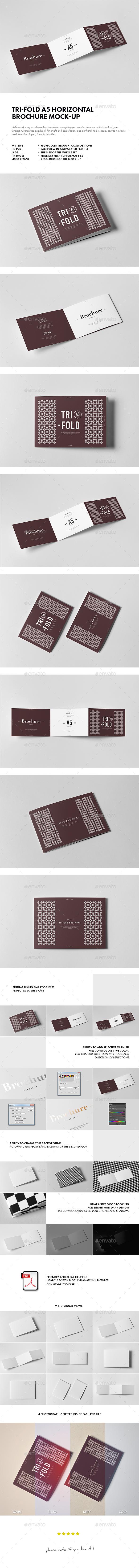 Tri-Fold A5 Horizontal Brochure 2 - Brochures Print