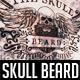 Skull Beard Label Logo - GraphicRiver Item for Sale