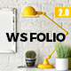WS Folio - Responsive Portfolio WordPress Theme Nulled
