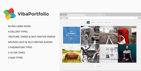 Viba Portfolio - WordPress Plugin - CodeCanyon Item for Sale