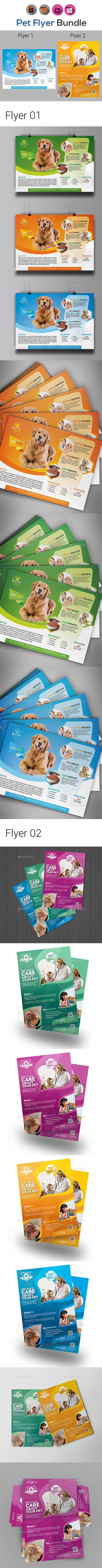 Pets Flyer Template Bundle - Corporate Flyers