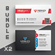 Business Card Bundle 34 - GraphicRiver Item for Sale