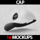 16 Cap Mockup - GraphicRiver Item for Sale